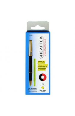 Маркер для MPI Sheaffer жел. 3 шт Sh109030