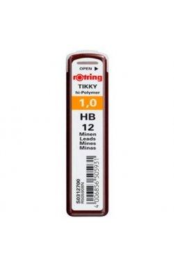 Грифели Rotring 1,0мм HB (12) S0312700