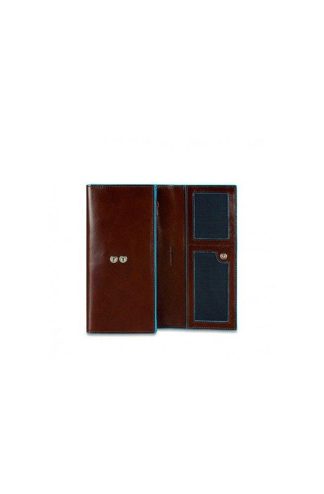 Портмоне PIQUADRO коричневый BL SQUARE/Cognac PD3411B2_MO