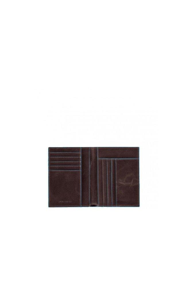 Портмоне PIQUADRO коричневый BL SQUARE/Cognac PU1393B2_MO