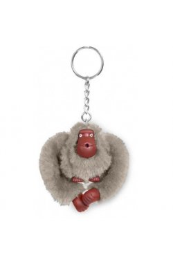 Брелок Kipling MONKEYCLIP S/Warm Grey K16474_828