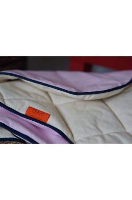 Ковдра з конопляного волокна KIDS PINK 100х65