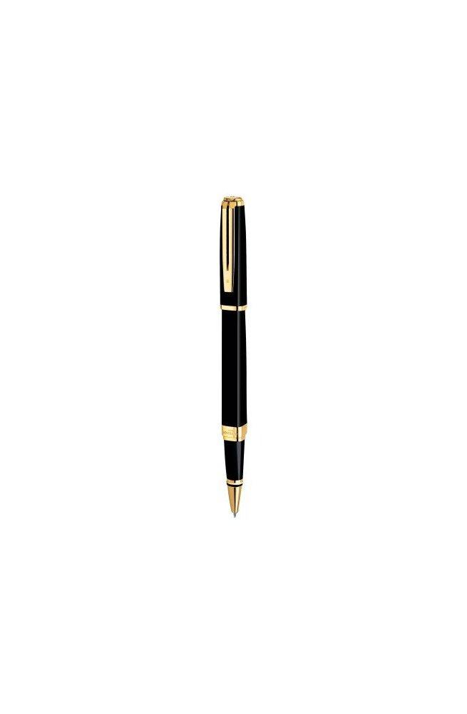 Ручка роллер Waterman EXCEPTION Slim Black GT RB 41 028