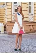 Сукня з аплікацією у вигляді гуся