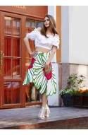 Расклешенная юбка «лепестки»