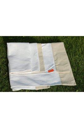 Банний рушник з конопляної тканини
