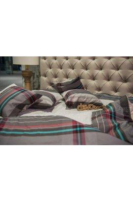 Одеяло-покрывало стеганное Бирюза Hemp