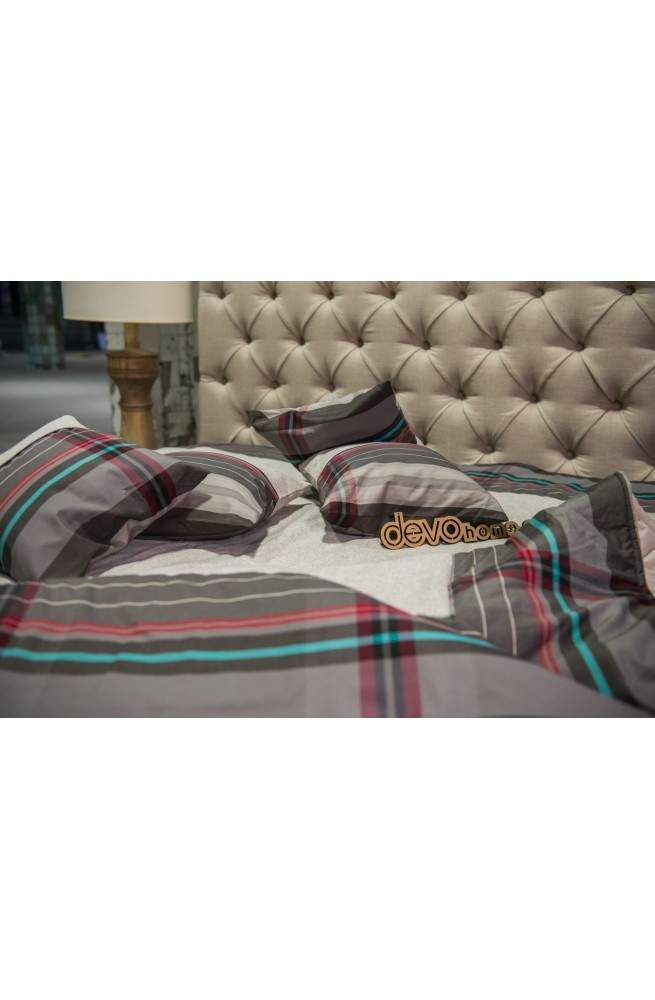 Бирюза Hemp стеганое одеяло-покрывало