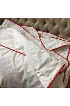Одеяло демисезонное Red stripe 200x220