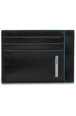 Кредитница Piquadro Blue Square/Black PP2762B2R_N
