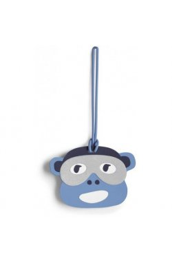 Брелок Kipling MONKEY FUN TAG/Bl Monkey Face K00117_25B