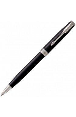 Ручка шариковая Parker SONNET 17 Black Lacquer CT BP 86 132