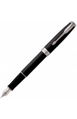 Ручка перьевая Parker SONNET 17 Matte Black Lacquer CT FP F 84 911