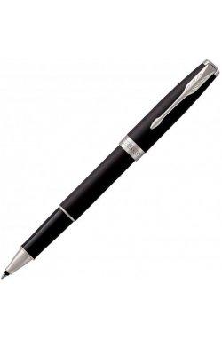 Ручка роллер Parker SONNET 17 Matte Black Lacquer CT RB 84 922