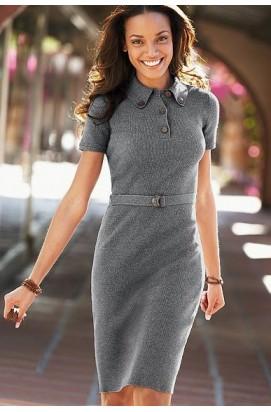В язані та трикотажні сукні (плаття). Купити в язану сукню в Україні ... 7028244448a19