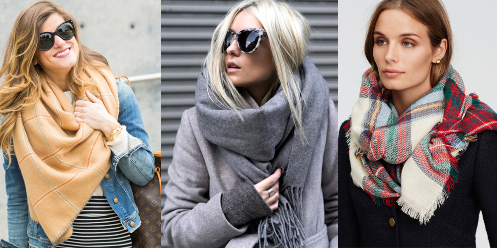 Красиво завязать шарф 2018